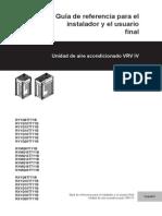 Manual Daikin VRV IV