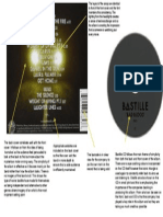 Bastille Bad Blood Back Cover Analysis
