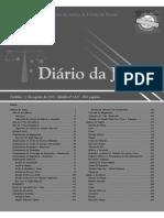 Diário Da Justiça Eletrônico - Data Da Veiculação - 12-08-2015 40 47