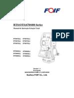 Manual Estação Total - FOIF