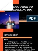 INTRODUCTION TO OIL RIGS