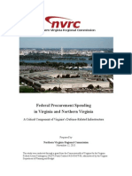 Federal Procurement Spending in Northern Virginia
