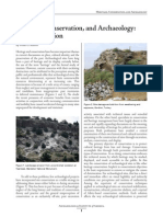 HeritageConservation and Archaeology