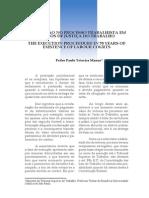 A Execução No Processo Trabalhista Em 70 Anos de JT - Pedro Paulo Manus