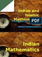 Indian and Islamic Mathematics