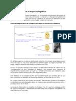 calibracion de la imagen radiologica