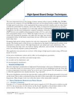 High Speed Board Design