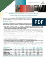 Press-release referente ao 3T15