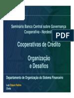 Organizacao e Desafios Cooperativas de Credito