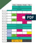 Drain Schedule 15.16