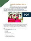 Role of Merchandiser in Garment Industry
