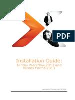 Nintex Workflow 2013 Installation Guide