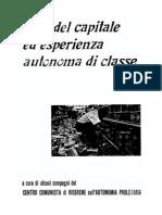 crisi del capitale ed esperienza autonoma di classe