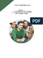 ENoLL Activity Report 2011