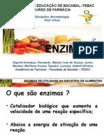 Slide Enzimas - Bromatologia