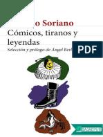 Comicos, Tiranos y Leyendas - Osvaldo Soriano