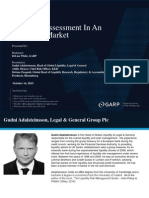 GARP - Liquidity Assessment in an Uncertain Market
