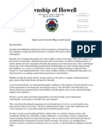 Open Letter Mayor Council 2015