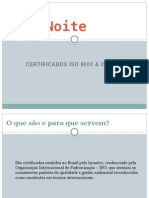 Trabalho Semestral - Certificados ISO 9000 e ISO 14000
