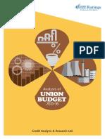 Union Budget Analysis 2015-16