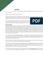 vendor email