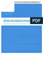 UN Report on Peacekeeping Operations
