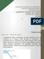 Clase 11 - Diseño y Selección Sistemas de Transporte de Fluidos Líquidos en Procesos Agroindustriales III