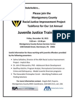 flyer juvenile justice training - dec 2015