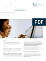 Dell-0078- Mastering Active Directory Migrations