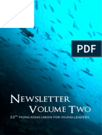 22nd HKUYL Newsletter Volume 2