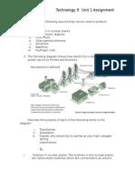unit 1 assignment power distribution