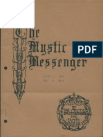 The Mystic Messenger, April 1943