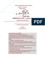 LAMPEA-Doc 2015 – numéro 33 / vendredi 13 novembre 2015