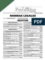 Normas Legales, viernes 13 de noviembre del 2015