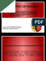 CONVENIO DE GINEBRA 4 convenios y protocolos derechos humanitario en guerra.pptx