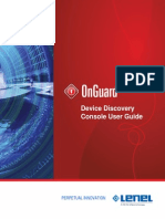 Device Discovery Console