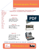Portable Gas Chromatographs from PID Analyzers, LLC 111515