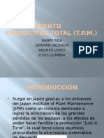 Mantenimiento Productivo Total (1)