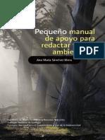 Sanchez Mora Ana Maria - Pequeño Manual de Apoyo Para Redactar Textos Ambientales