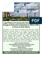 2015 ABA-SIL AFRICA FORUM in Nairobi, Kenya _ June 4-5
