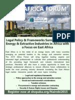 2015 ABA-SIL AFRICA FORUM in Nairobi, Kenya _ June 4-5