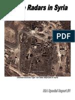 Chinese Radars in Syria Oconnor 2012