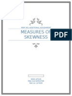 Measures of Skewness