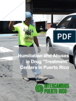 Humiliation & Abuse in Drug Treatment in Puerto Rico - Intercambios PR - 2015