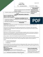 psi curriculum lesson plan