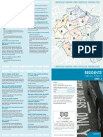 CPZ Residents Permits Leaflet