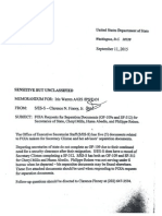 Huma Abedin & Cheryl Mills 'Separation Agreements'