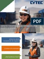 importancia de la mujer en la mineria