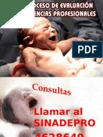 SEXTO PROCESO DE EVALUACIÓN DE COMPETENCIAS PROFESIONALES