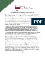 SCOTUS to Hear Case Against TX Clinic Closure Law